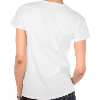T-Shirt Cabernet CHA Femme Blanc Classic Noir