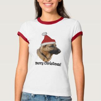 "T-shirt Christmas ""shepherd dog """