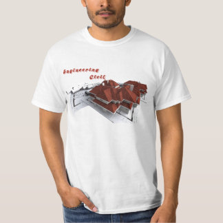 T-shirt Civil Engineering - Print Plants