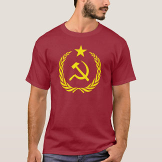 T-Shirt Cold War Communist Flag