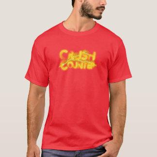 T-shirt Crush Red Counter