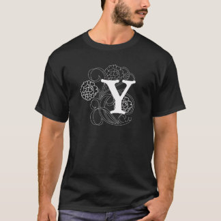 T-shirt cute with Y letters