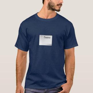 T-Shirt Delete button