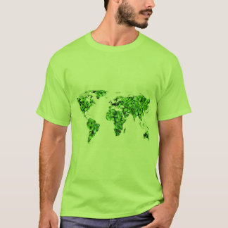 T.SHIRT EARTH IN LEAVES T-Shirt