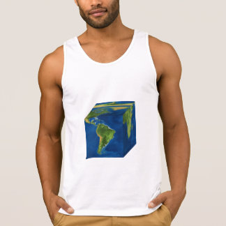 T.SHIRT EARTH PUBLIC GARDEN SINGLET