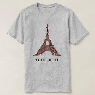 T-SHIRT Eiffel Tower Graphic illustration