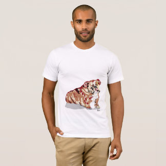 T-Shirt English Bull Dog - Add on what you'd like
