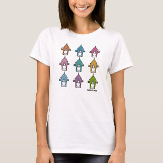T-Shirt: Faces T-Shirt