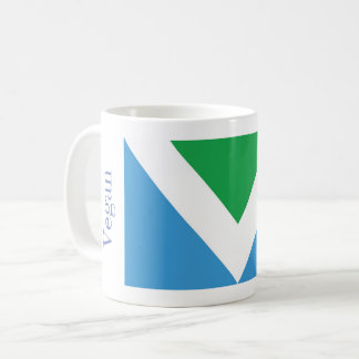 T-shirt featuring official vegan flag coffee mug