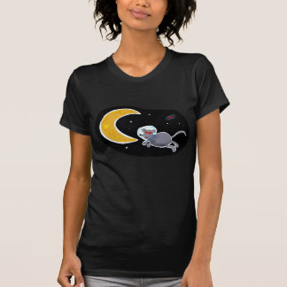T-shirt Feminine Joust - Mouse In Space