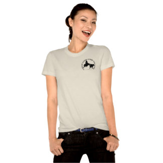 T-Shirt Femme Naturel Organic Noir
