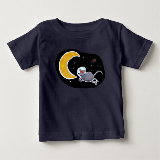 T-shirt for Baby - Mouse In Space