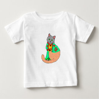 T-shirt for children with cat