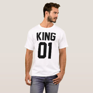 T-Shirt for Even Man of Love King and Queen