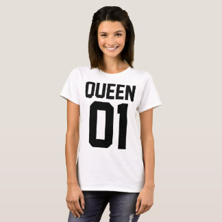 T-Shirt for Even Woman of Love King and Queen