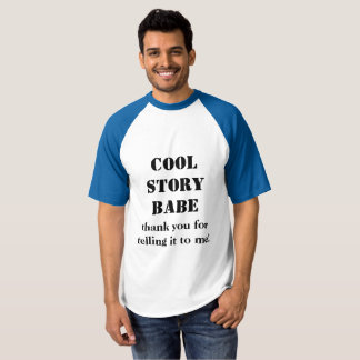 t-shirt for if you know an interesting babe