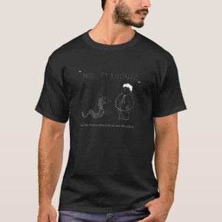 T Shirt for Python Coders - Not Pythonic vs Python