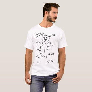 T-shirt for real Human Anatomy experts