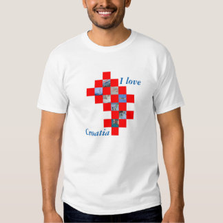 T-shirt for tourisme in Croatia