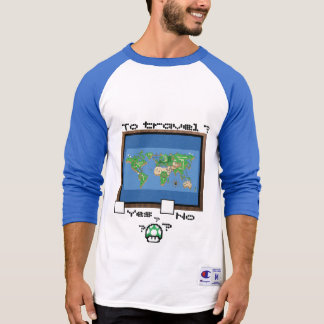 T-shirt for trip/to gamer