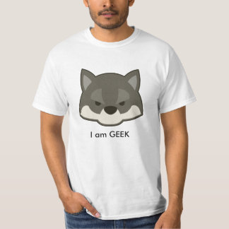 T-shirt fox I a.m. Geek