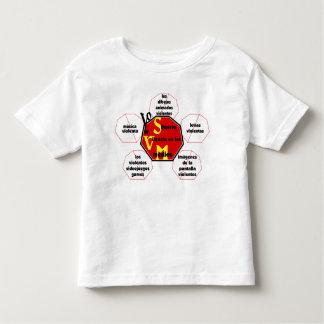 T-shirt-Front&Back_I Silence Media Violence© Toddler T-Shirt