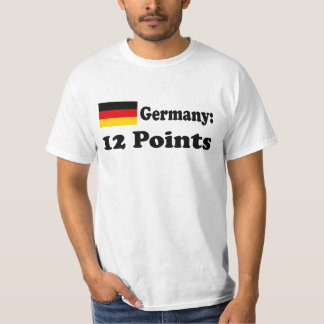 """T-shirt """"Germany 12 POINTs """""""
