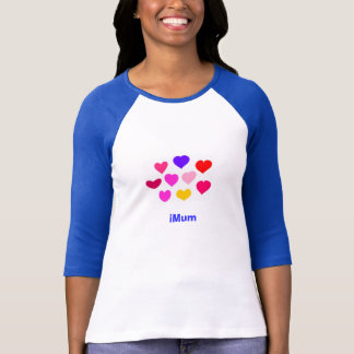 T-shirt hearts iMum