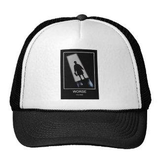 T SHIRT HORROR GOTH GRAPHIC ART HATS
