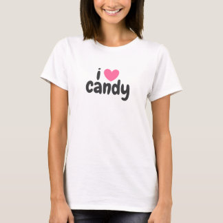 T-Shirt - I LOVE CANDY