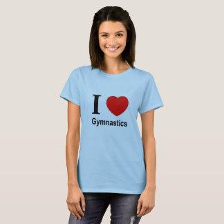 "T-shirt ""I love Gymnastics """