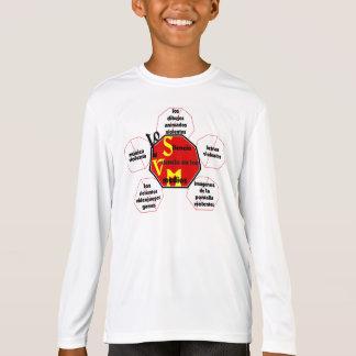 T-shirt-I Silence Media Violence© T-Shirt