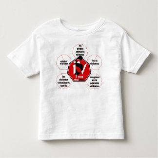 T-shirt-I Stop Media Violence© Toddler T-Shirt