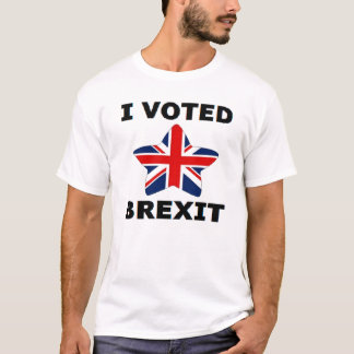 T-Shirt I Voted Brexit