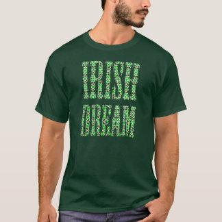 T-shirt IRISH DREAM. Mosaic of arabesque Moorish