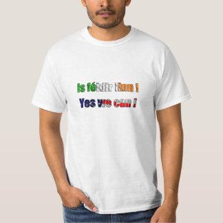 T-shirt 'Is feidir linn - yes we can'