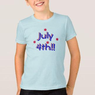 t-shirt - July 4th (kids)