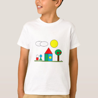 T-shirt Landscape By Par3a