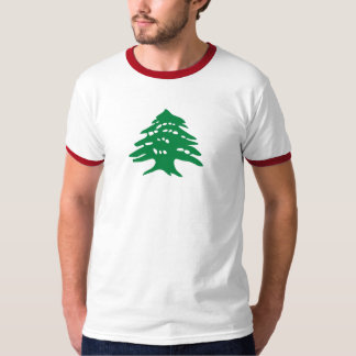 t-shirt - Lebanese cedar