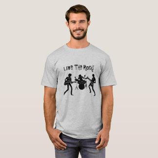 T-SHIRT LIVE THE ROCK FashionFC