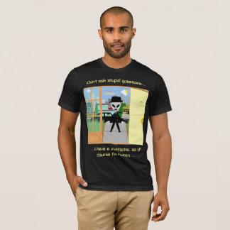 T-Shirt: MIB with Mustache T-Shirt