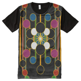 T-Shirt: Modern Geometric #4 Alternative All-Over Print T-Shirt