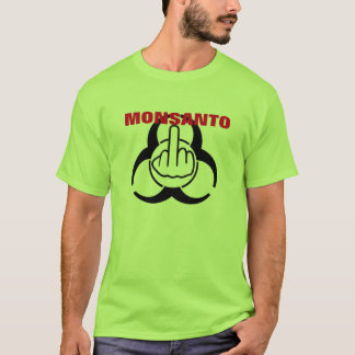 T-Shirt Monsanto Bio Hazard Flip