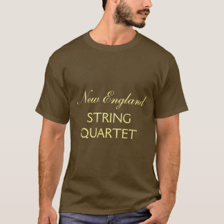 T-Shirt, New England String Quartet T-Shirt