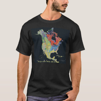 T-Shirt / North American Continent
