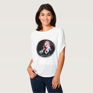 T-shirt of Beautiful+Canvas of loose style with