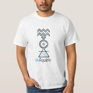 T-shirt of the Sign of Aquarium