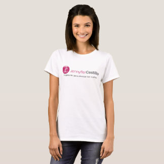 T-shirt of Woman with Logo Jennyffer Castillo