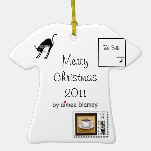 t-shirt ornament - 2011
