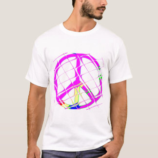 T-SHIRT, PEACE SYMBOL,FUNKY-COOL DESIGN. T-Shirt